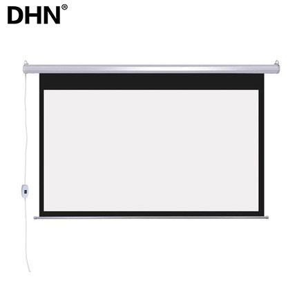 fast folding projector screen motorized 100/120/150 inch electric projector screen