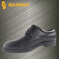 dress shoes high quality genuine leather men military black police officer shoes