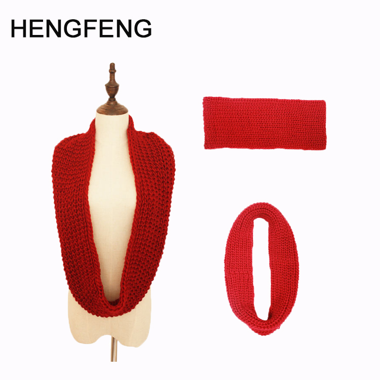 Factory directly winter warm women neck scarf