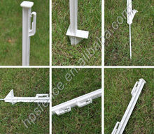 s s animals low cost pasture plastic electric fence manufacture of stakes post for farming