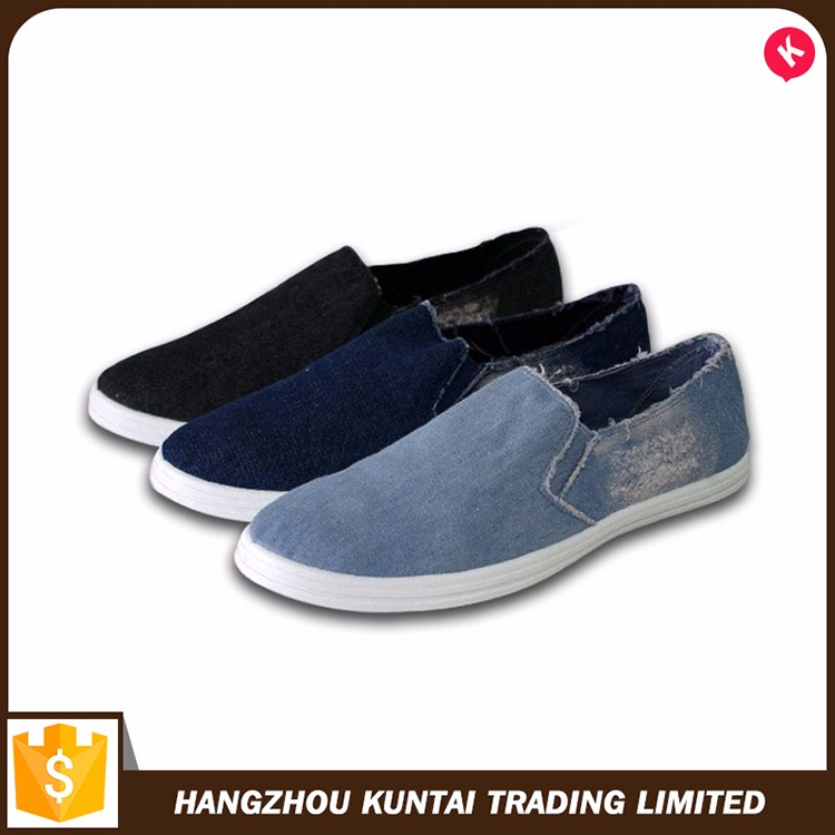 Special hot selling canvas shoes for men casual shoes