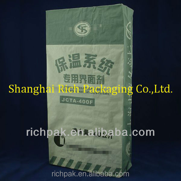 multiwall paper bags 40kg for interface treatment agent