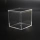 55x55x55mm plastic packaging box clear acrylic square box for candy