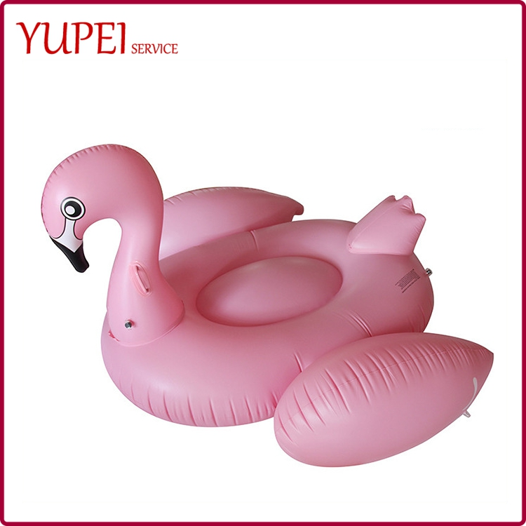 Custom Pool Float Inflatable Water Pool Toys 190cm PVC Pink Flamingo Floats Good Quality