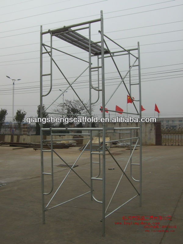 Ladder Scaffold System : Mm stee ladder frame scaffolding system for decoration