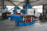 Automatic hydraulic concrete roofing tiles making machine