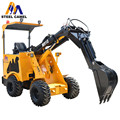 Digging machine 1000kg loader with attachments