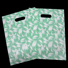 OEM plastic pouch large plastic shopping bags with handles