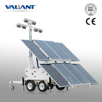 New Process Outdoor LED Solar Tower