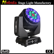 19x12w led big bee Eye moving head light/DJ big bee eye