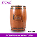2017 High Quanlity & Security 48L Wooden Barrel Wine Cooler