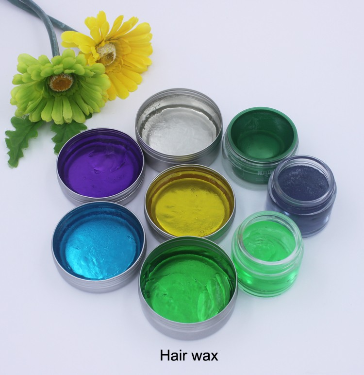 High Quality Extreme Hold Hair Wax With Colorful (100ml) OEM/ODM/Private Label