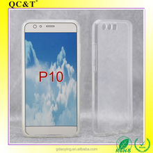 2017 New model clear case TPU smart phone p10 for Huawei phone