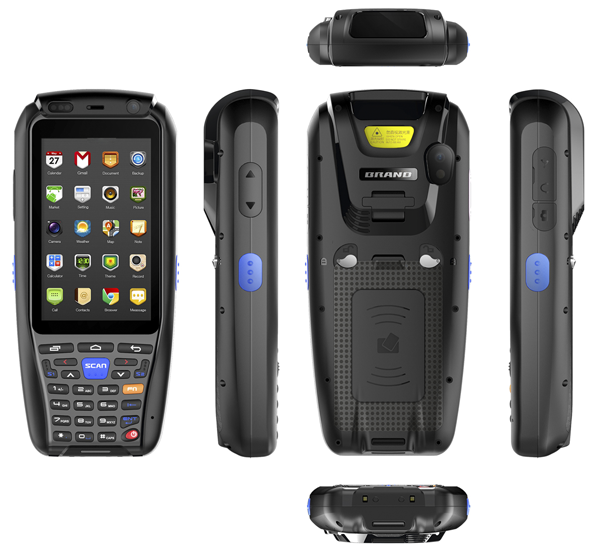 Android 3G Police Radio Scanner with NFC reader RFID GPS Bluetooth V8