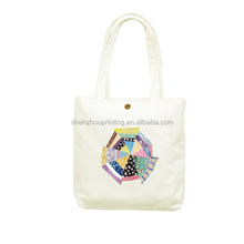 HOT! New Arrival colorful calico library bag promotional