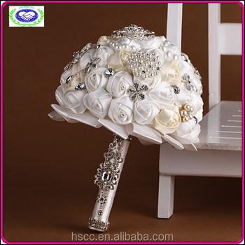 Unique Wedding Gifts 2015 : 2015 Unique Flower Rose Bridal Bouquet Wedding GiftBuy Bride Hand ...