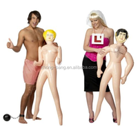 5ft Inflatable BLOW UP MAN OR WOMAN Doll Hen Stag Night Party Novelty Toy Gift