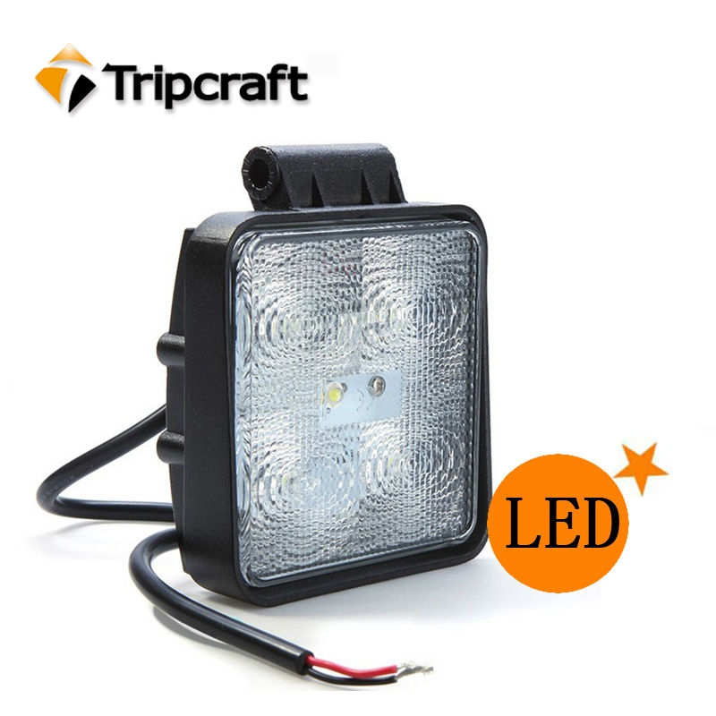 15W offroad light hid drive led truck trailer lights