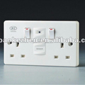 0200SPW twin wall socket, MOV surge protect