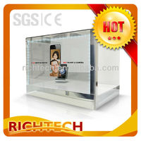 "12.1"" Multiple display--Transparent LCD display with portable and exquisite transparent video Showcase"
