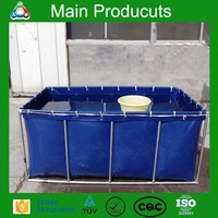 New design chinese hot sale portable movable flexible cube structure 500 liter small fish tanks