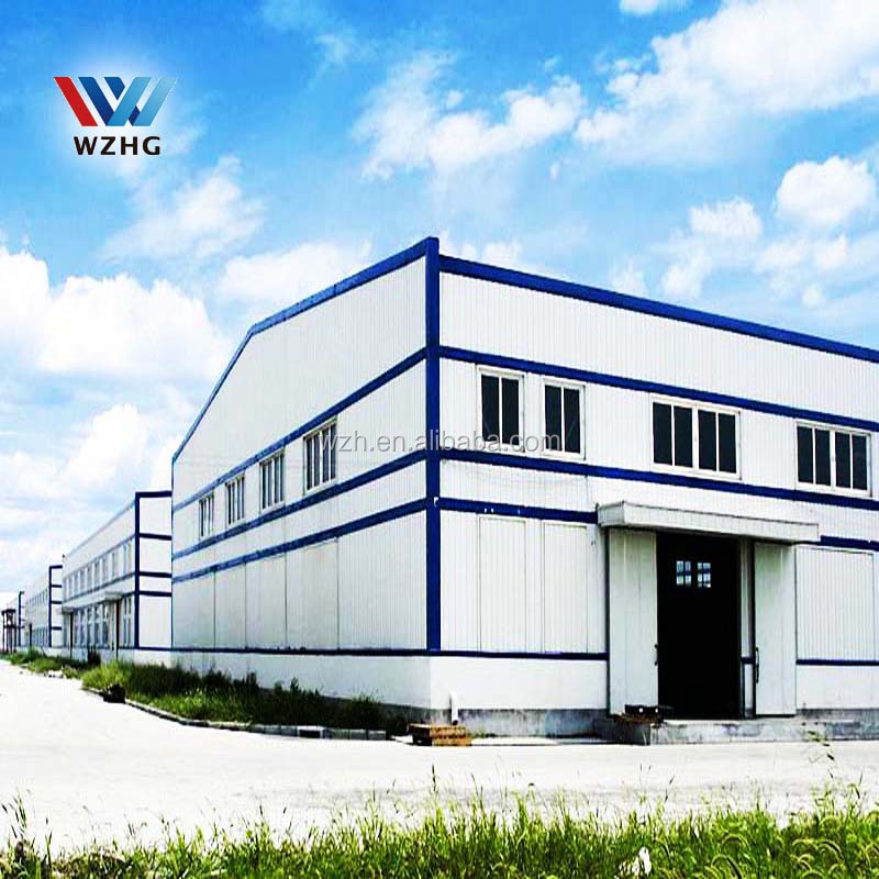 China factory for prefabricated two story steel structure warehouse