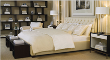Elegant fabric bed with fabric cushion headboard Living Room Furniture Fabric Bed