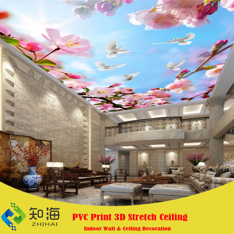 2.6mWx4.2mH per piece butterfly decorations that hang from ceiling false ceiling for hotel lobby