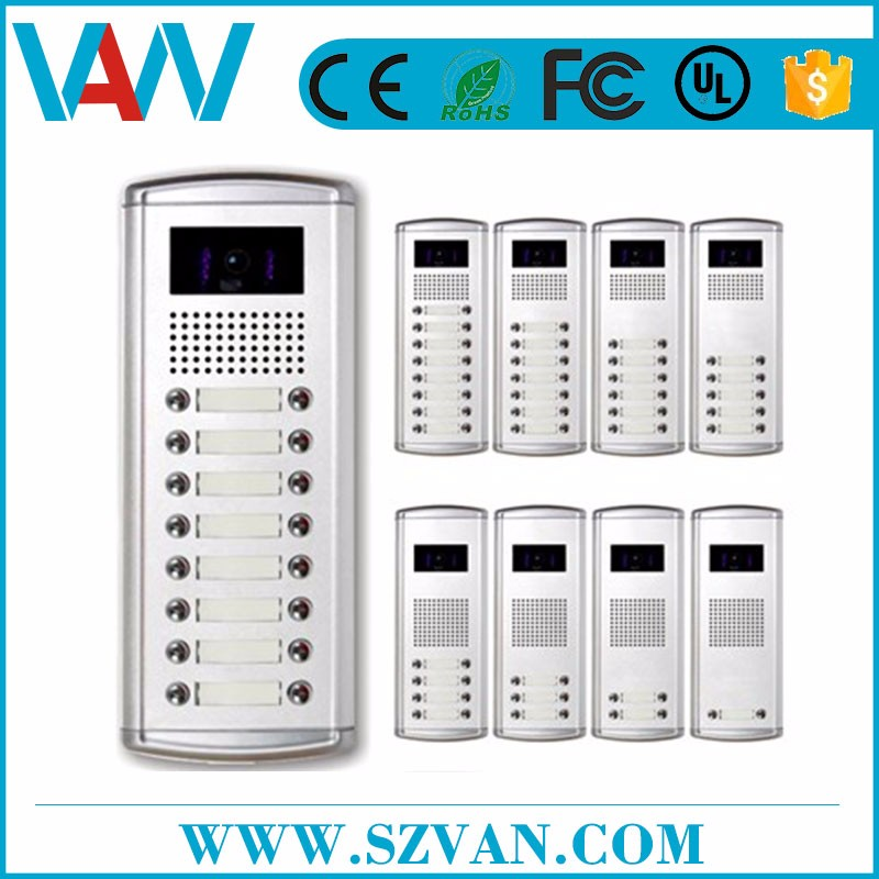 Custom logo audio door phone intercom system OEM
