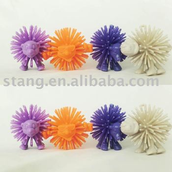 Plastic Small Ball toy figure,shaking toys