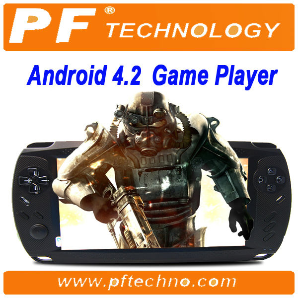2014 new product 7 inch WIFI Android 4.2 free download games mp5 player