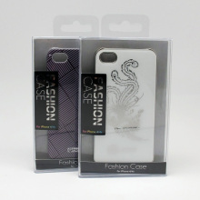 Cell Phone Case Clear Plastic Retail Packaging With Customized Cardboard
