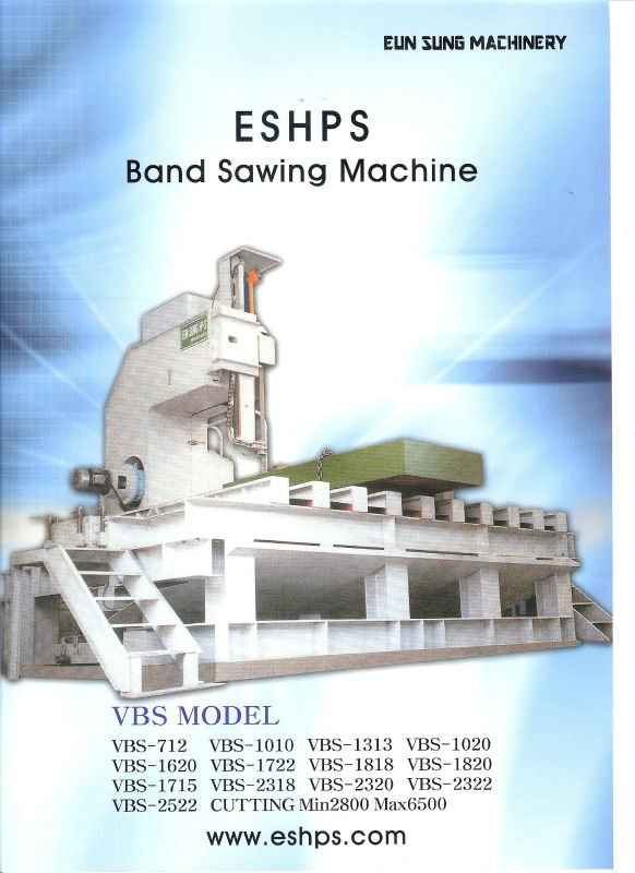 Band Saw Machine For Metal