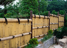 Decorative Plastic Bamboo garden Fence Edging