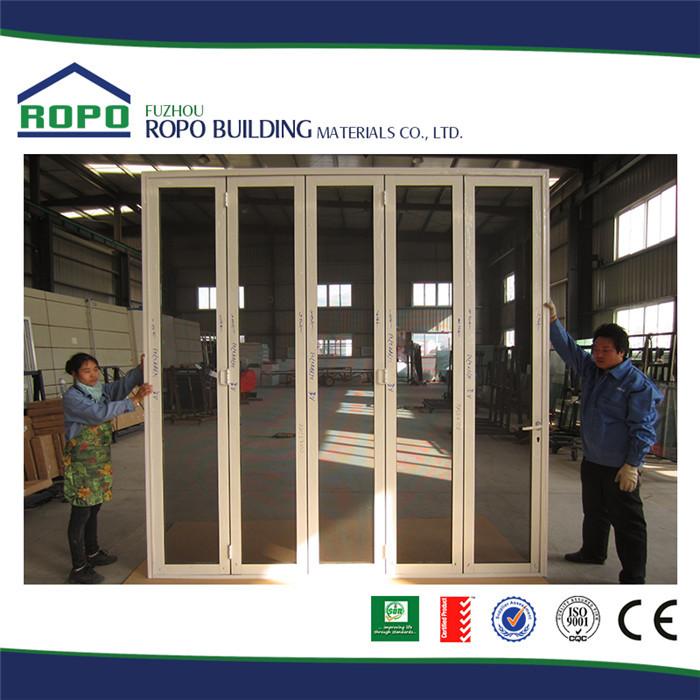 White Frame Five Panels Plastic Folding Interior Temporary Folding Door Buy Interior Temporary
