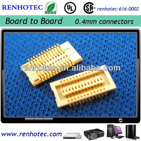 board to board connector pitch 0.4mm terminal board connector