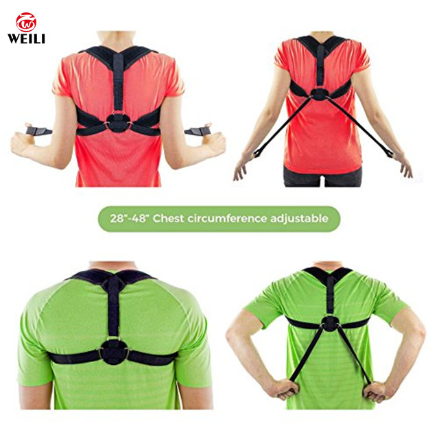 body shaper back stretche lumbar back brace posture corrector