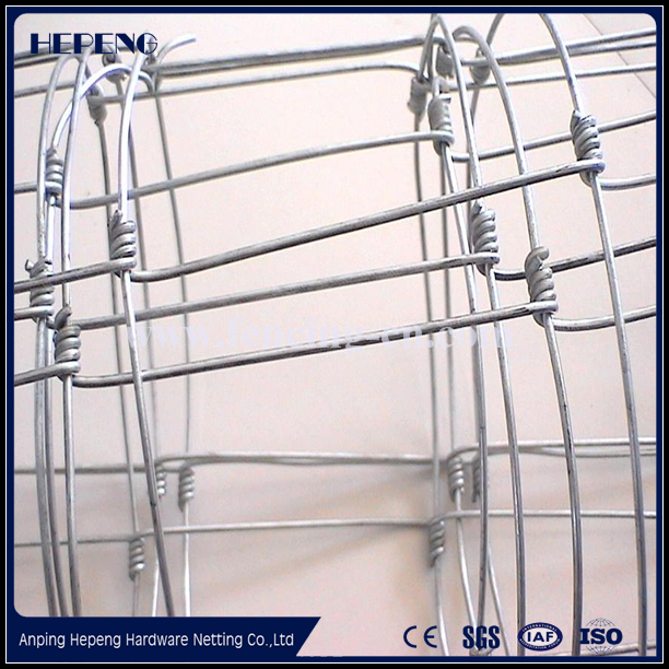 Factory direct sale hinge joint knot field fence mesh for animals&hinge joint field fencing&horse farm