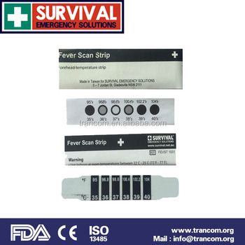 Forehead Scan Fever Thermometer Strip with FDA&CE 1031