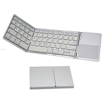 Tri-fold Foldable Bluetooth Keyboard with Touchpad best buy for iPad Android PC