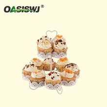12 cups 2tiers cupcake stand cake stand holder powder coating
