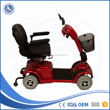 Heavy loading Easy to ride Detachable canopy four wheels electric Scooter manufacturer for adult