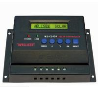 Power controller device Wellsee WS-C2460 12v/24v 60A solar charge controller electronic power control protection