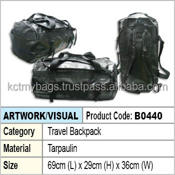 waterproof dry bag with backpack function