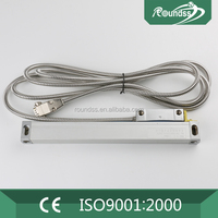 Low Cost TTL Output Linear Glass Disk Scale Linear Wire Encoder