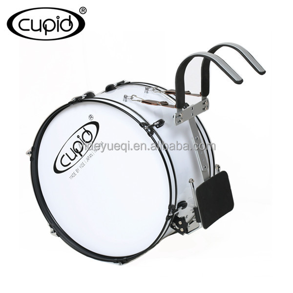 Cupid military band wood marching drum marching bass drum