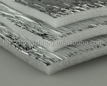 thermal insulation material for oven heat preservation materials fireplace insulation board aluminum foil backed foam insulation