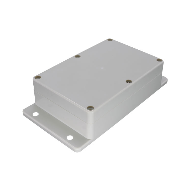 Custom power supply wall mount plastic waterproof enclosure by plastic injection mold