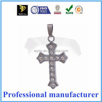 fashion pendant stainless steel cross celtic pendant jewelry silver 925