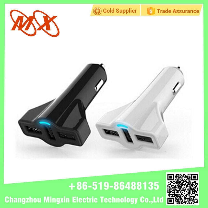 Airplane Shape Mini USB Car Charger 5V2.1A Car Charger for Smart phone MP3 GPS